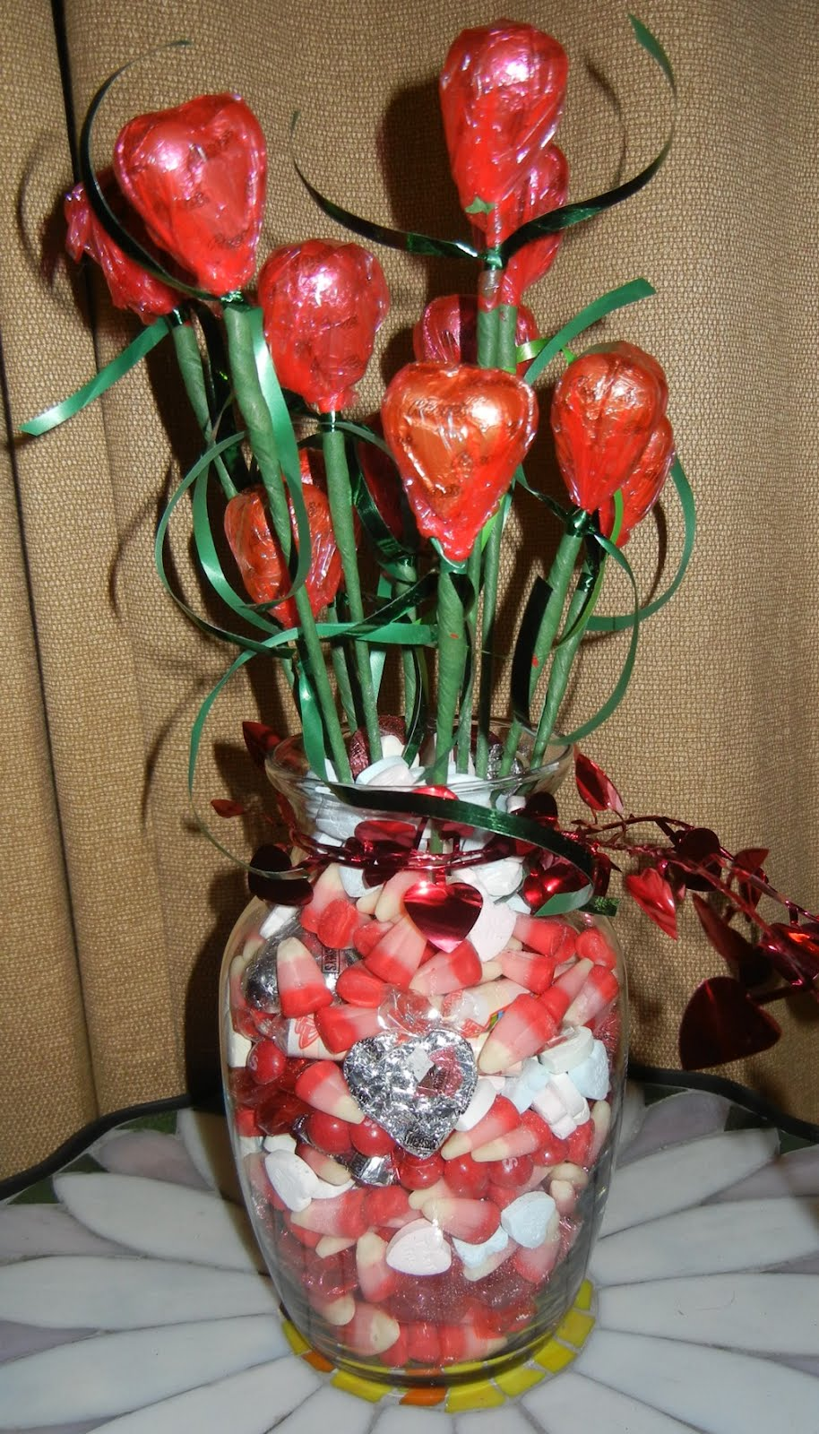 Handcrafted memories valentines day teacher gift filling the vases was more expensive than i anticipated too bought the vases at the dollar tree maybe i should have gone for a smaller one reviewsmspy