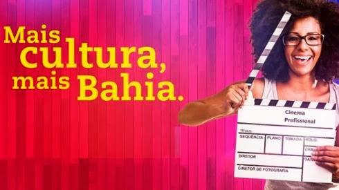 Mais cultura, mais Bahia.