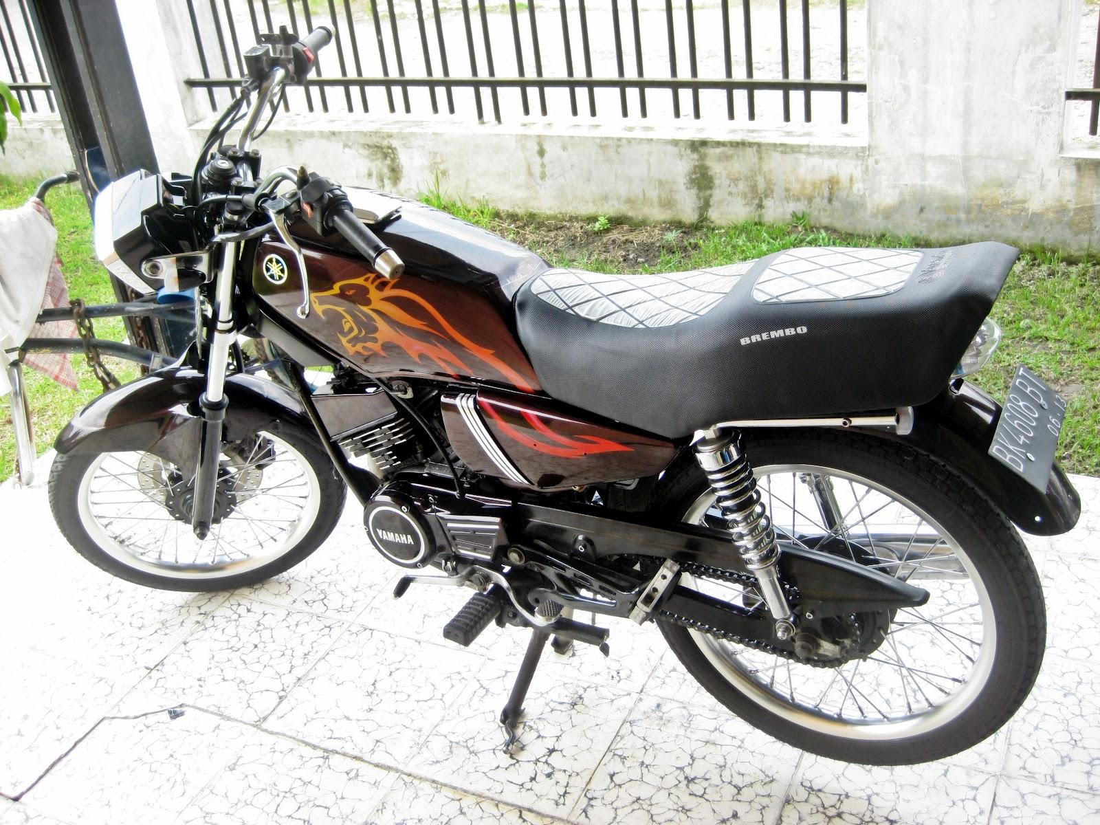 Modifikasi Sepeda Motor Yamaha Rx King