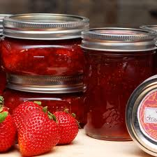 strawberry jam- strawberry jam recipe-jam recipe-freezer jam strawbery -freezer jam - make strawbery jam