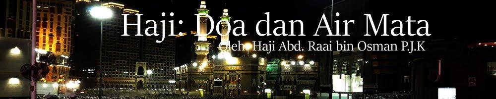Haji: Doa dan Air Mata