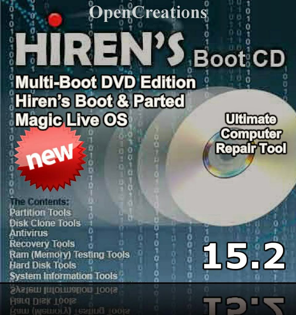 how to use hirens boot cd for password recovery