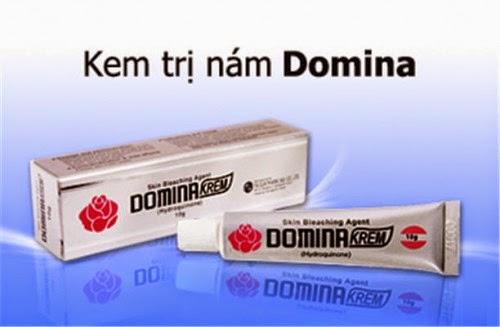 Kem trị nám da, tàn nhang Domina có tốt không?