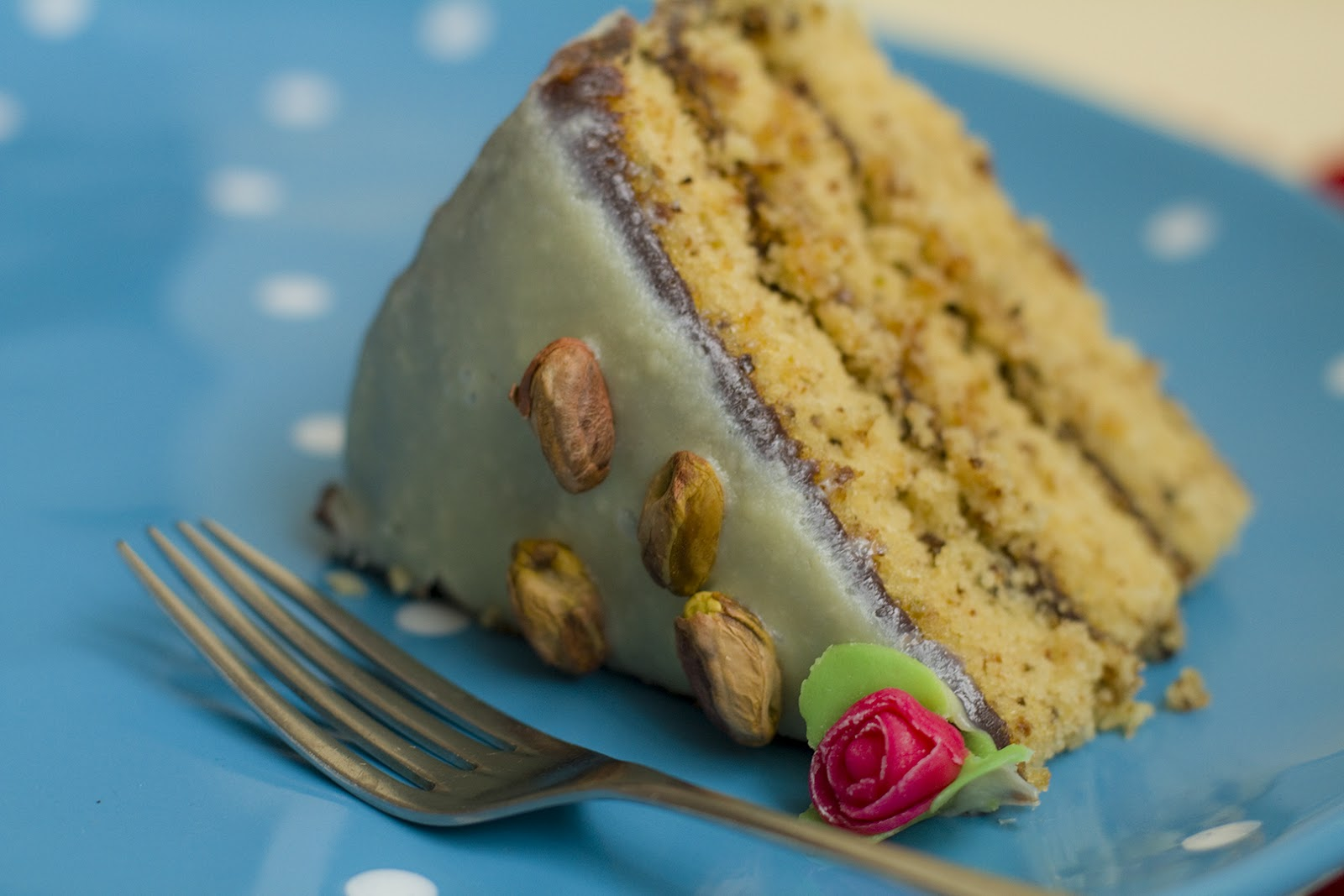 Pistachio Petit-four Cake Recipe — Dishmaps