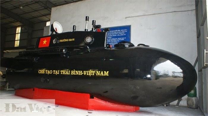 Tàu ngầm Trường Sa 01 sẽ tiếp tục được thử nghiệm vào ngày 30/4?