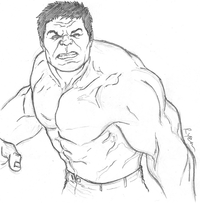 Hulk Face Line Drawing : Hulk coloring face mask pages