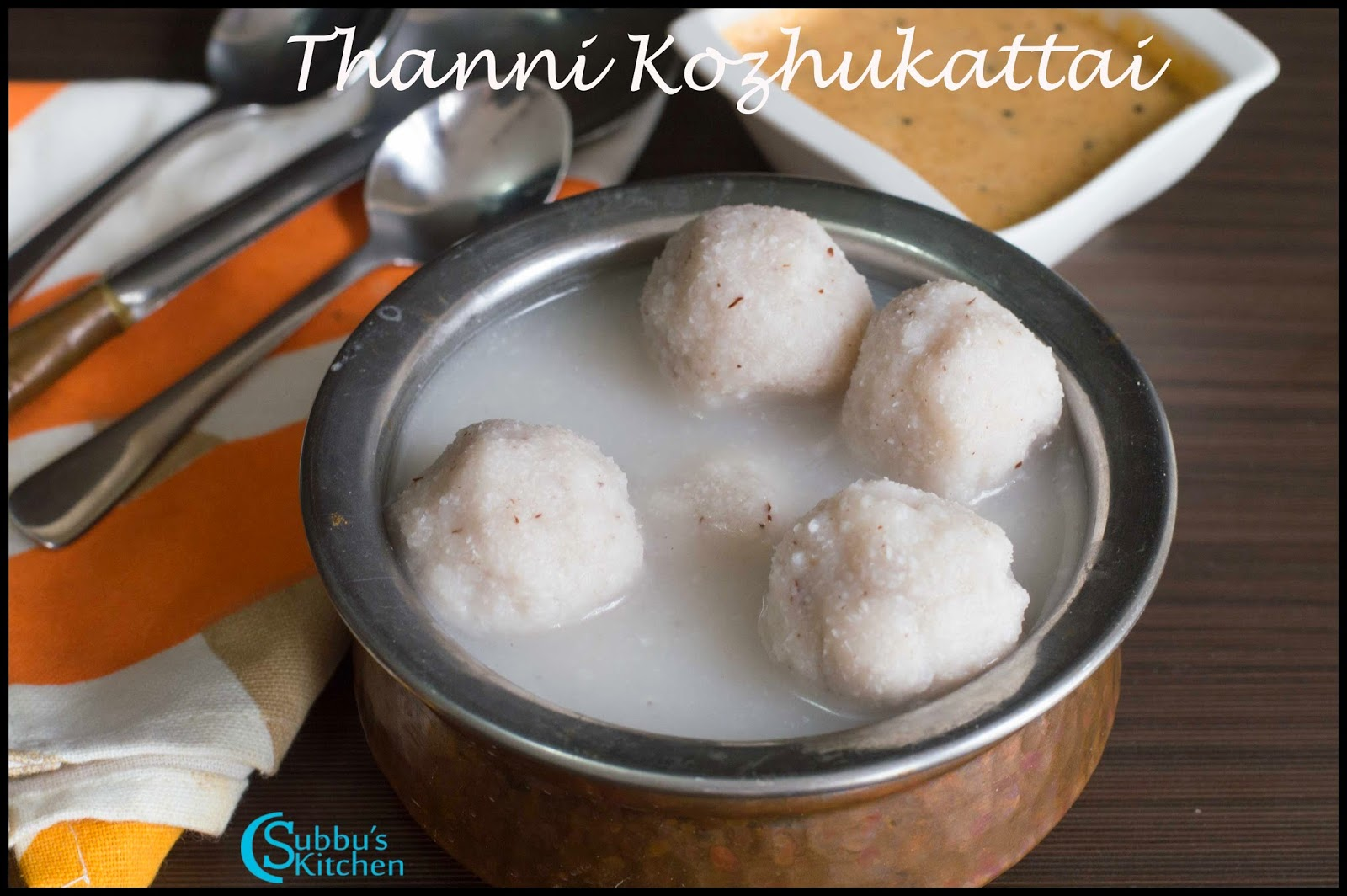 Thanni Kozhukattai
