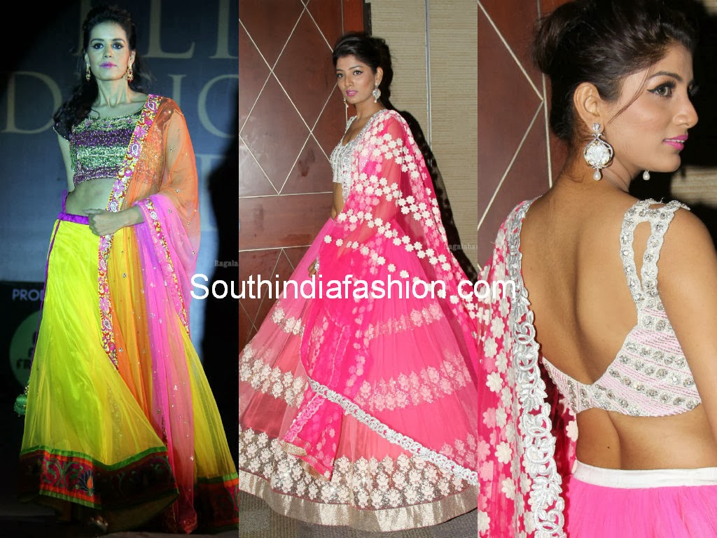 mugdha's lehenga collection