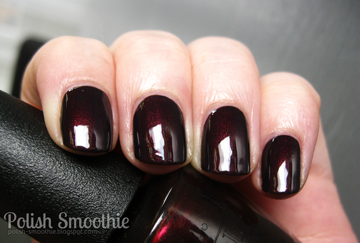 Polish Smoothie: OPI - Midnight In Moscow... I\'m back!
