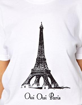 Oui Oui Paris Brashy Couture ASOS tshirt