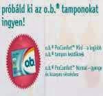 o.b. tamponok