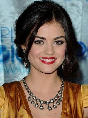 Lucy Hale Dangling Diamond Earrings