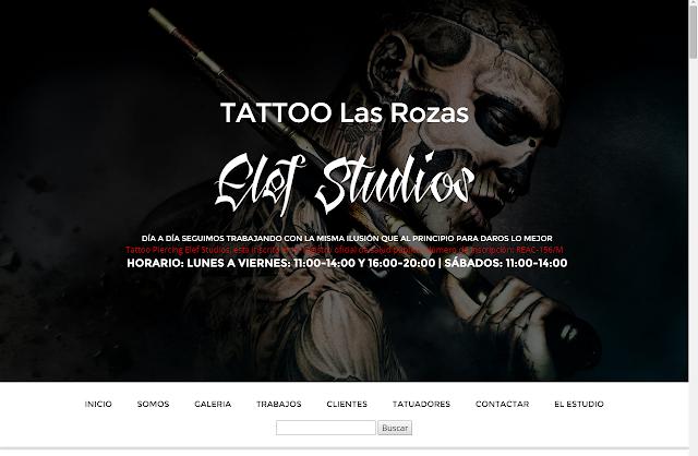 TATTO LAS ROZAS - ELEF STUDIOS