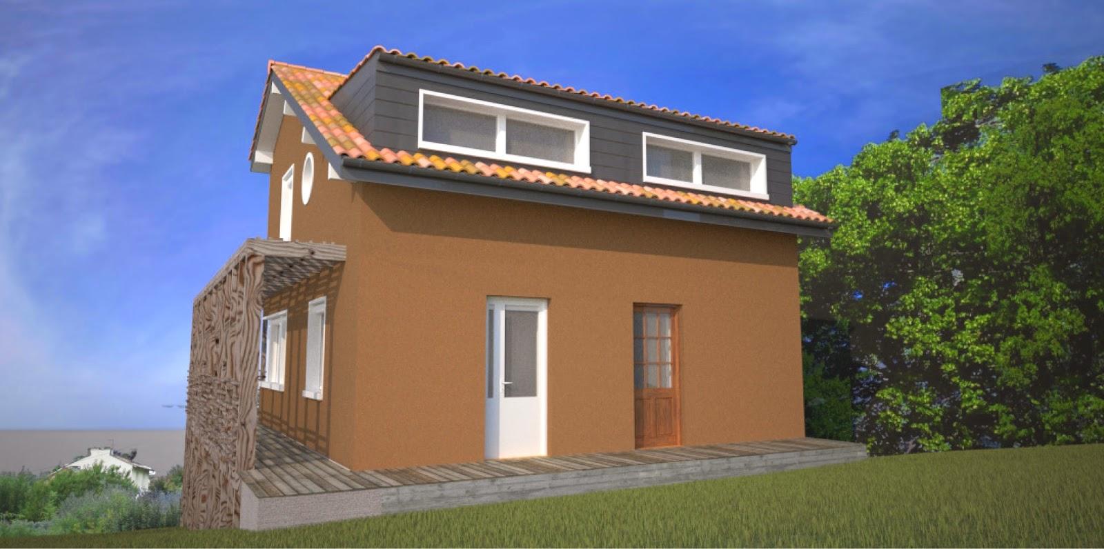 architecte p rigueux julien flahaut maison individuelle. Black Bedroom Furniture Sets. Home Design Ideas