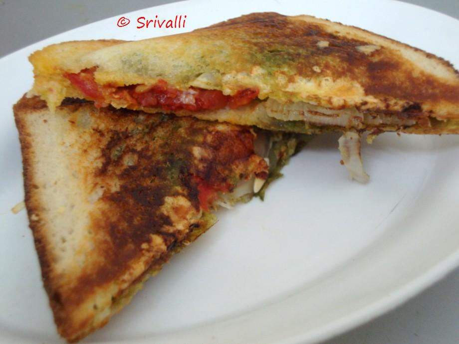 Bombay Grilled Sandwich | Bombay Sandwich | Step By Step Recipes ...