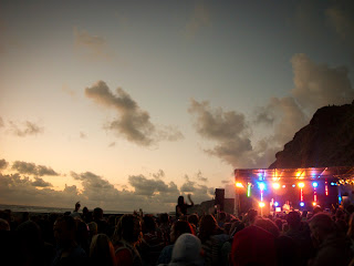 Cornwall music festival, Watergate Bay
