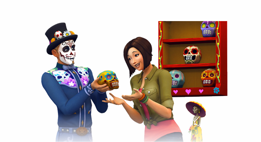 Então, como será o Desafio do Dia dos Mortos?