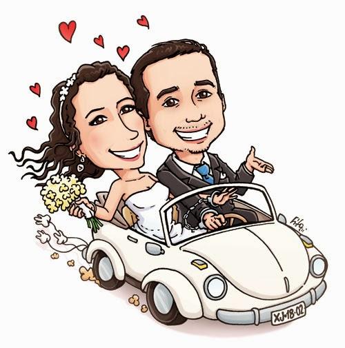 Caricaturas con novio enamorados - Imagui