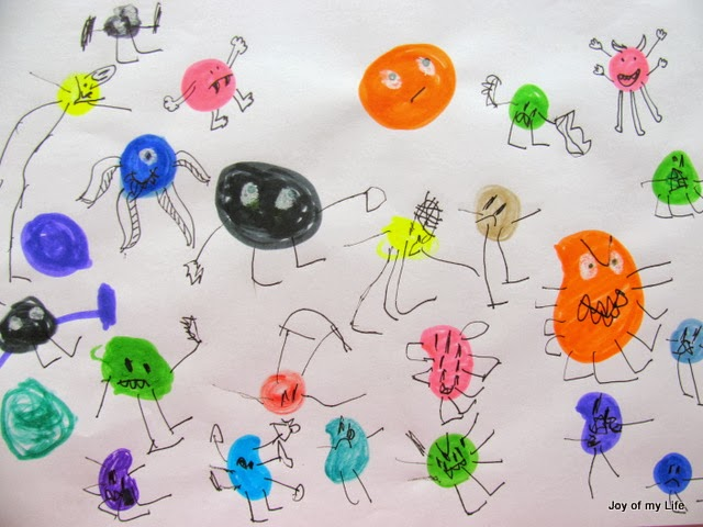 drawing monsters kids art usborne