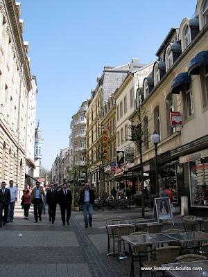 stradute pietonale in luxemburg