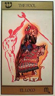 El Loco. Tarot de Dali
