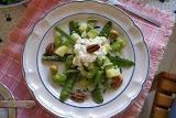 Flor en un plato