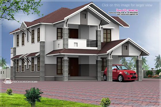 Home design in lengthy plot