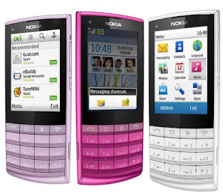 Nokia X3-02 Touch & Type User Guide Manual Specifications
