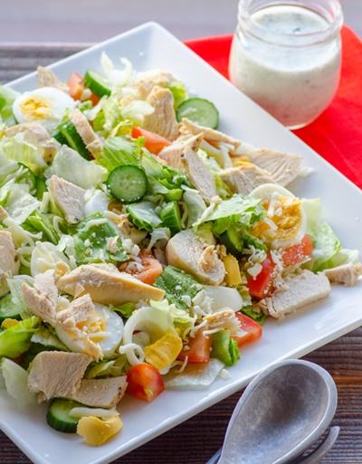 Healthy Chef Salad Recipe