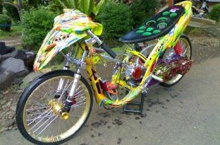 itulah tadi modifikasi motor drag indonesia terbaik versi pokoke  title=