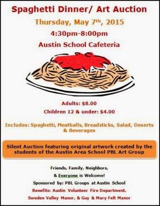 5-7 Spaghetti Dinner, Austin