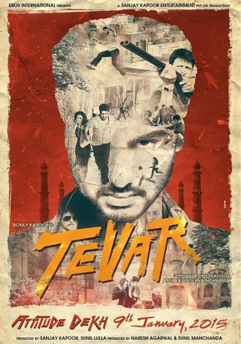 Complete cast and crew of Tevar (2014) bollywood hindi movie wiki, poster, Trailer, music list -  Arjun Kapoor, Sonakshi Sinha and Manoj Bajpayee