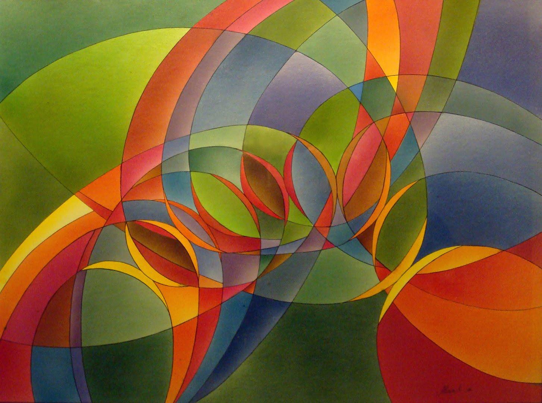 Arte Abstracto Geométrico  ARTE  Pinterest