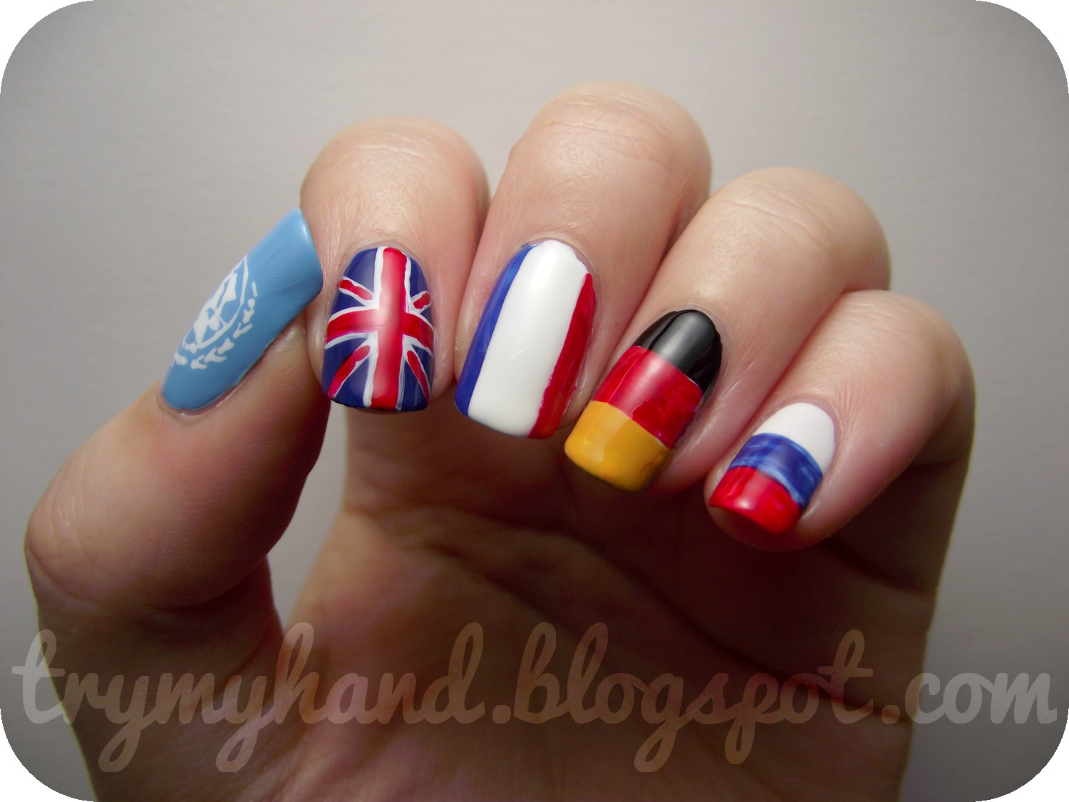 Try My Hand: NOTD : Language Nails