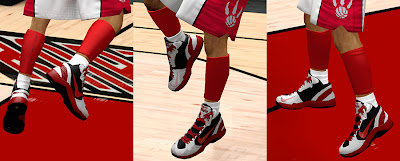 NBA 2K13 Nike Hyperdisruptor Custom Shoes Mod