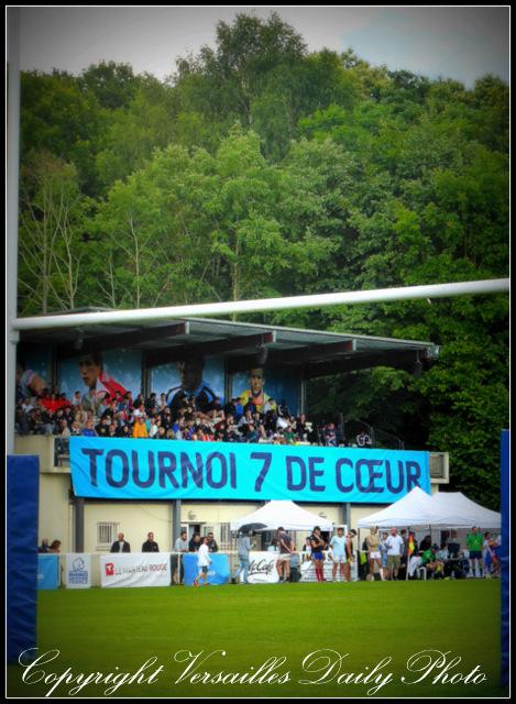 7 de coeur rugby Versailles stade de porchefontaine