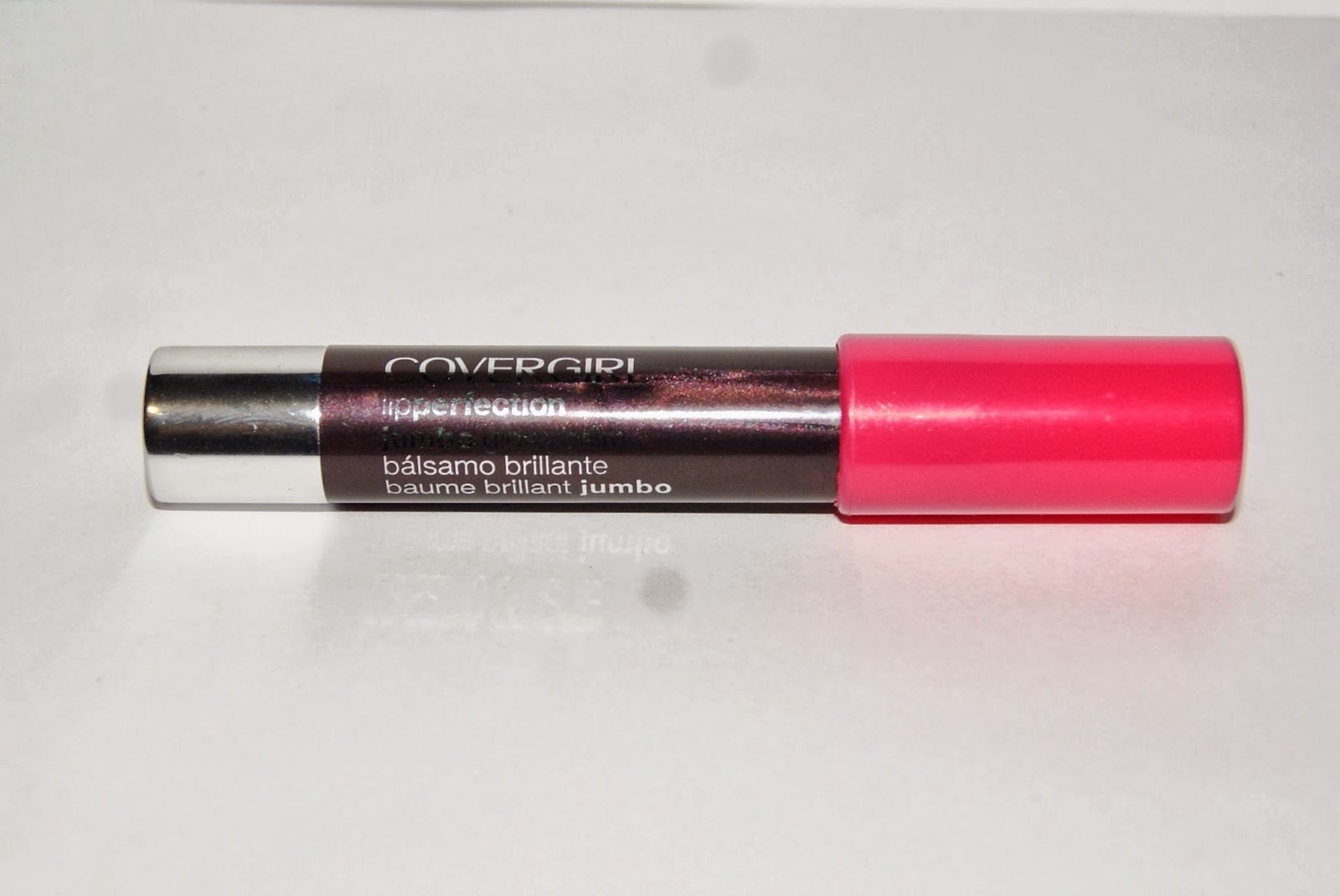 Covergirl Lip Perfection Jumbo Gloss Balm in Watermelon Twist Beauty Makeup Fashion Blogger from Toronto Canada Review