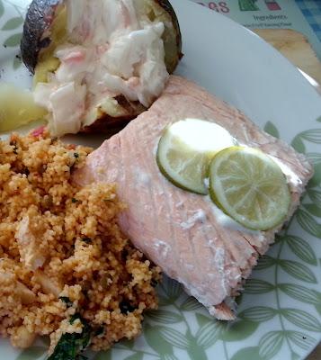 Baked Salmon Dsih
