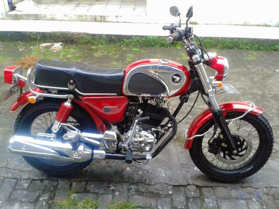 honda tiger modif cb dream cb indonesia