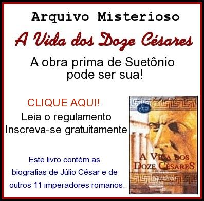 Promoção A Vida dos Doze Césares por Suetônio