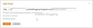 menambah sitemap blog ke bing dan yahoo