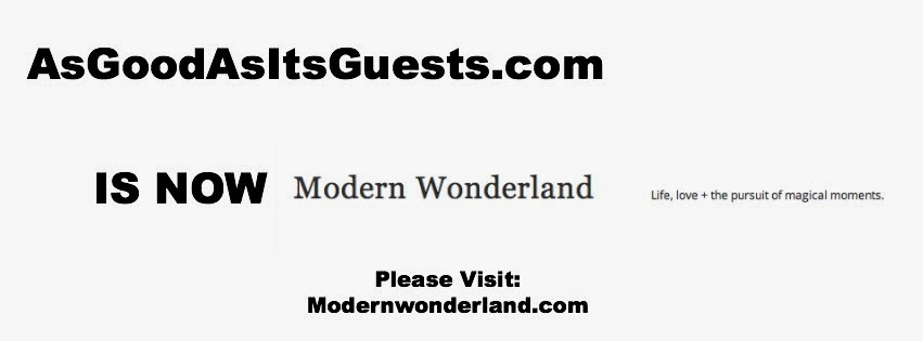 GO TO MODERNWONDERLAND.com (New Blog)