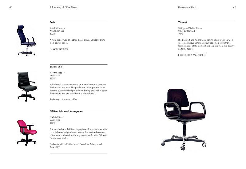 La historia de la silla de oficina recogida en un libro de for Origen de la oficina