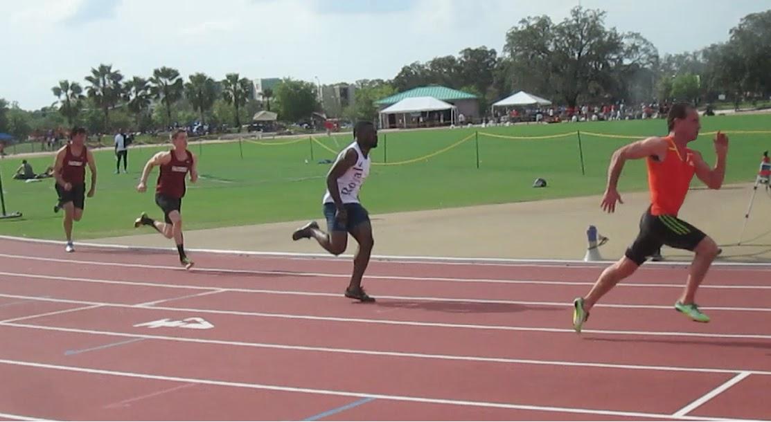 200m race - USF - 3/13/15