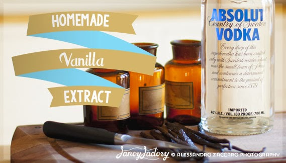 estratto di vaniglia fatto in casa - homemade vanilla extract
