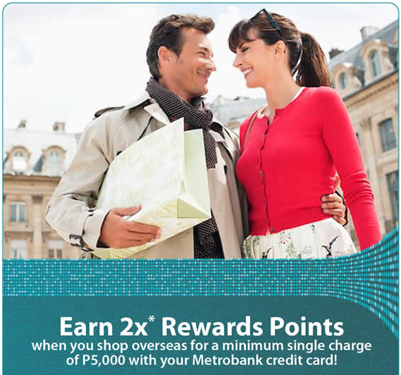 Metrobank Credit Card: Double your Rewards Promo 2015!