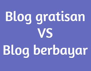Perbandingan Blog Gratis Dan Berbayar Dari Segi Pengunjung