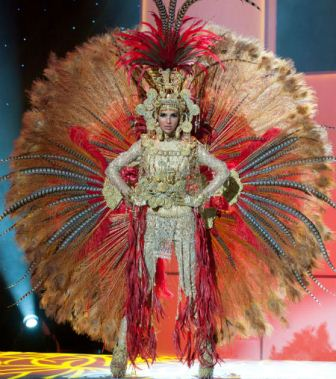 Miss Universe 2012 National Costume Show