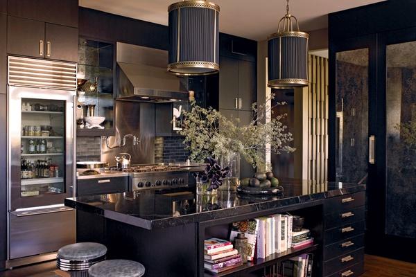 Dalliance Design  A Love Affair With Design BLACK KITCHENS