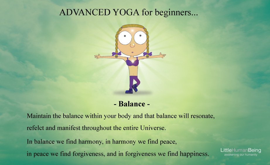 Advanced yoga for beginners 1 of 4